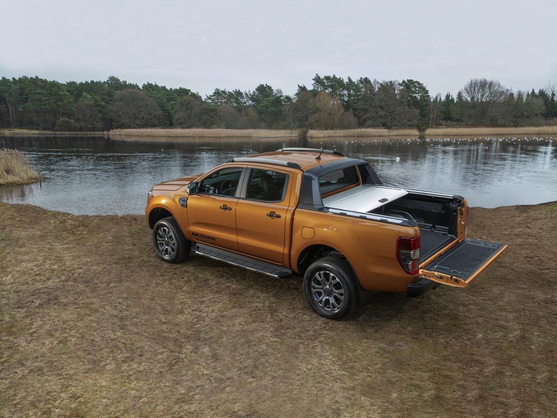 Auf anspruchsvollen Untergründen spielt der Ford Ranger seine Qualitäten voll aus