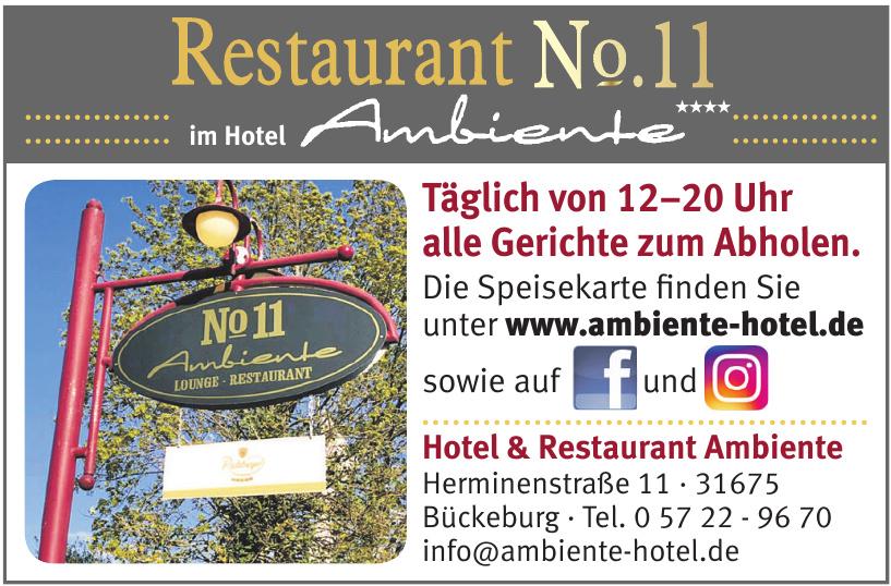 Hotel & Restaurant Ambiente
