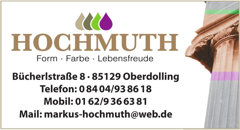 Markus Hochmuth Malermeister & Lackierermeister