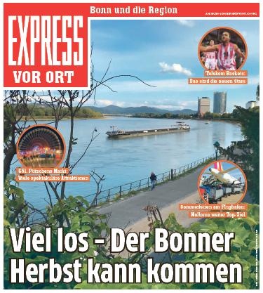 Bonn und die Region / Viel los – Der Bonner Herbst kann kommen