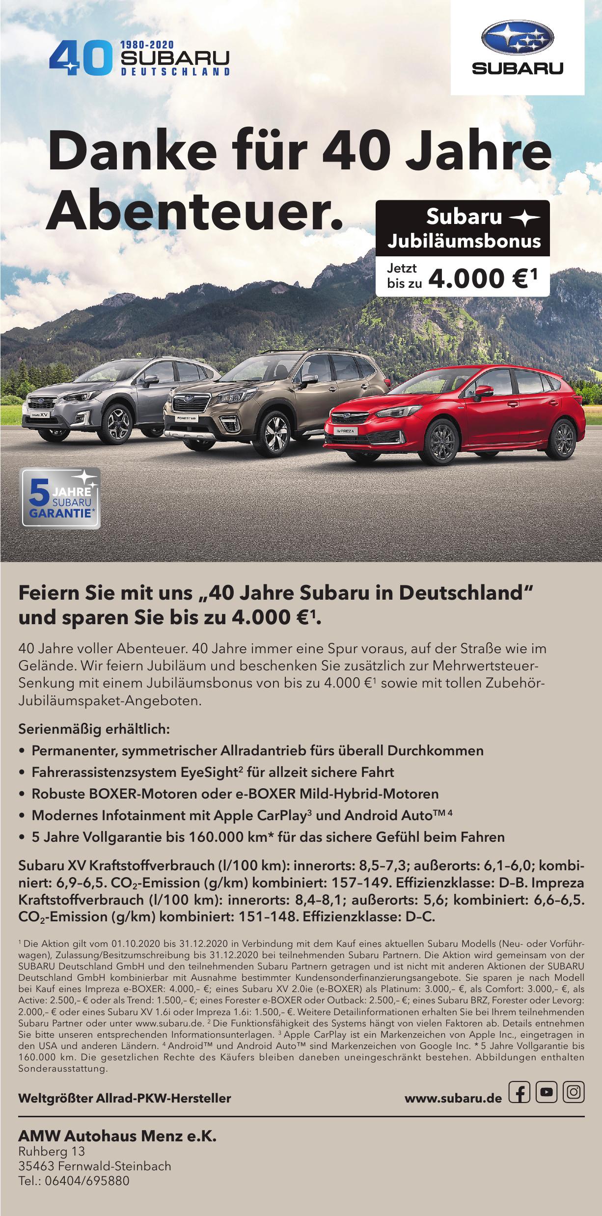 AMW Autohaus Menz e.K.