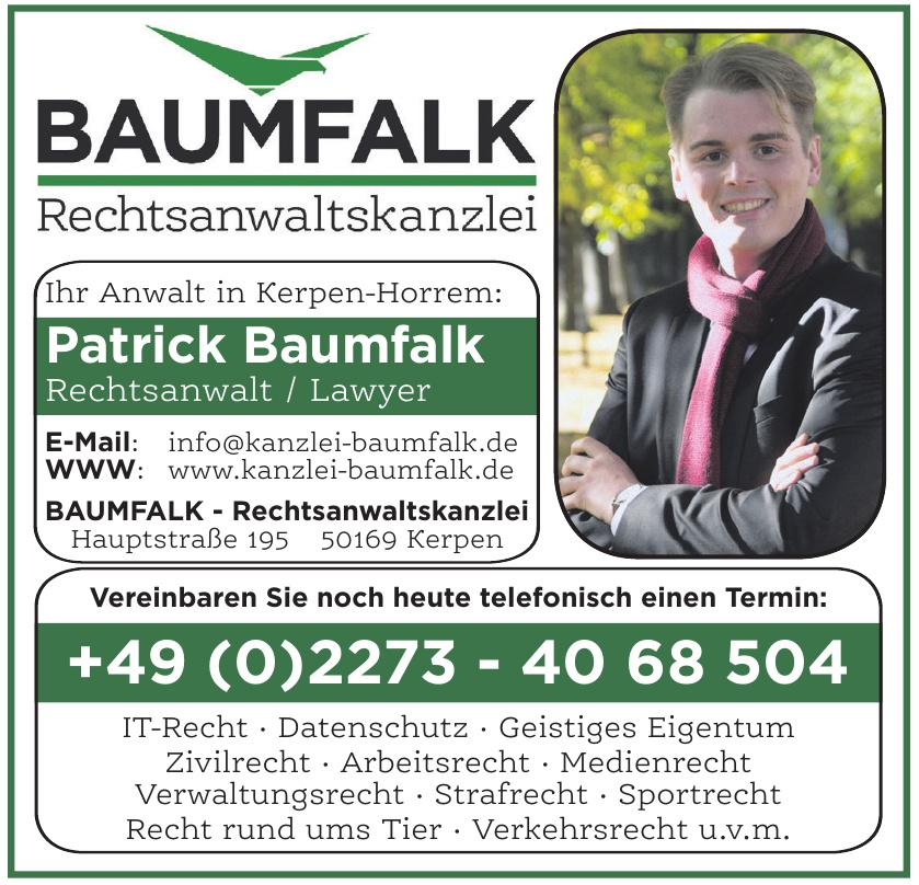 Rechtsanwaltskanzlei Patrick Baumfalk