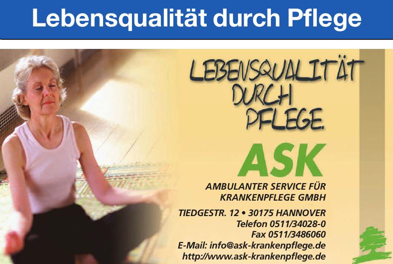 Ambulanter Service für Krankenpflege GmbH