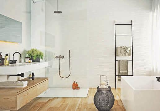 Bodenebene Duschen bieten eine sichere und zugleich schöne Alternative. Foto:epr/Marazzi/VDF
