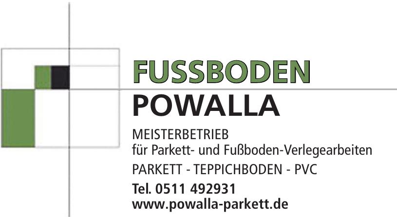 Fussboden Powalla