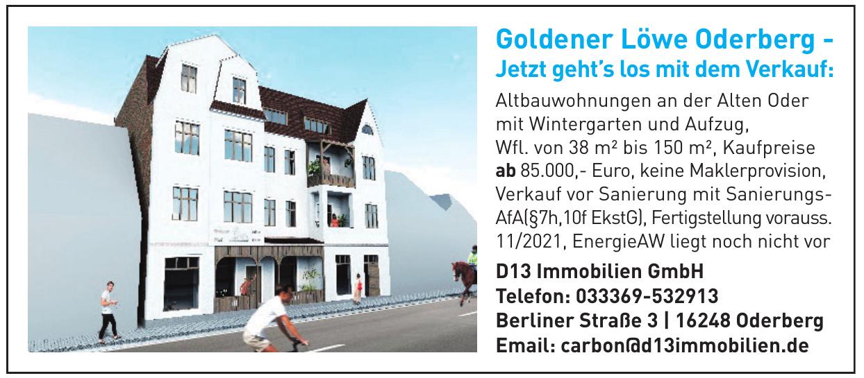 D13 Immobilien GmbH