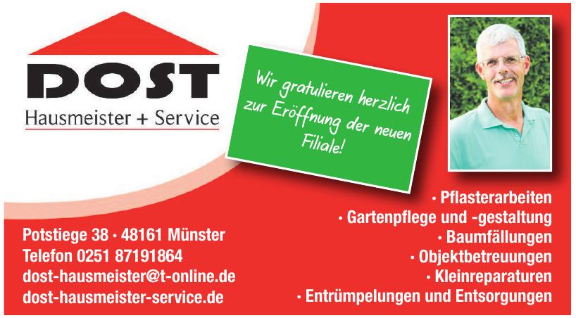 Dost Hausmeister + Service