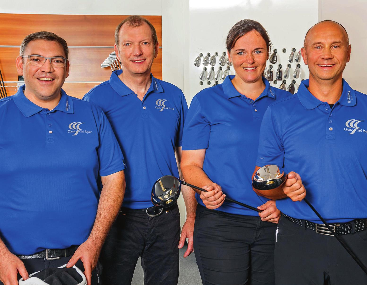 Das CCR-Team: (v.l.) Oliver Köhnen, Dietmar Erhardt, Steffi Kirchmayr und Michael Brünner. Fotos: Classic Club Repair (6)