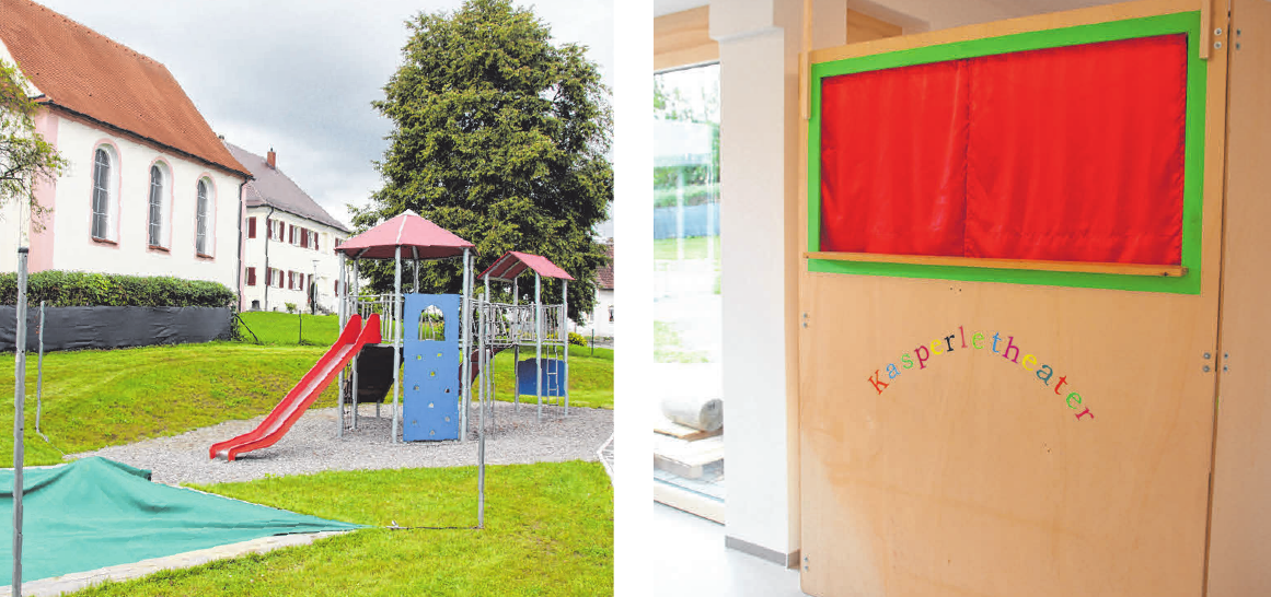 Neben dem neuen Außenbereich ist auch das Kasperletheater ein Highlight für die Kinder.