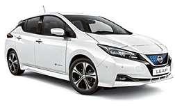 Der Nissan Leaf wird jetzt als limitierte Sonderedition herausgebracht. Foto: Nissan