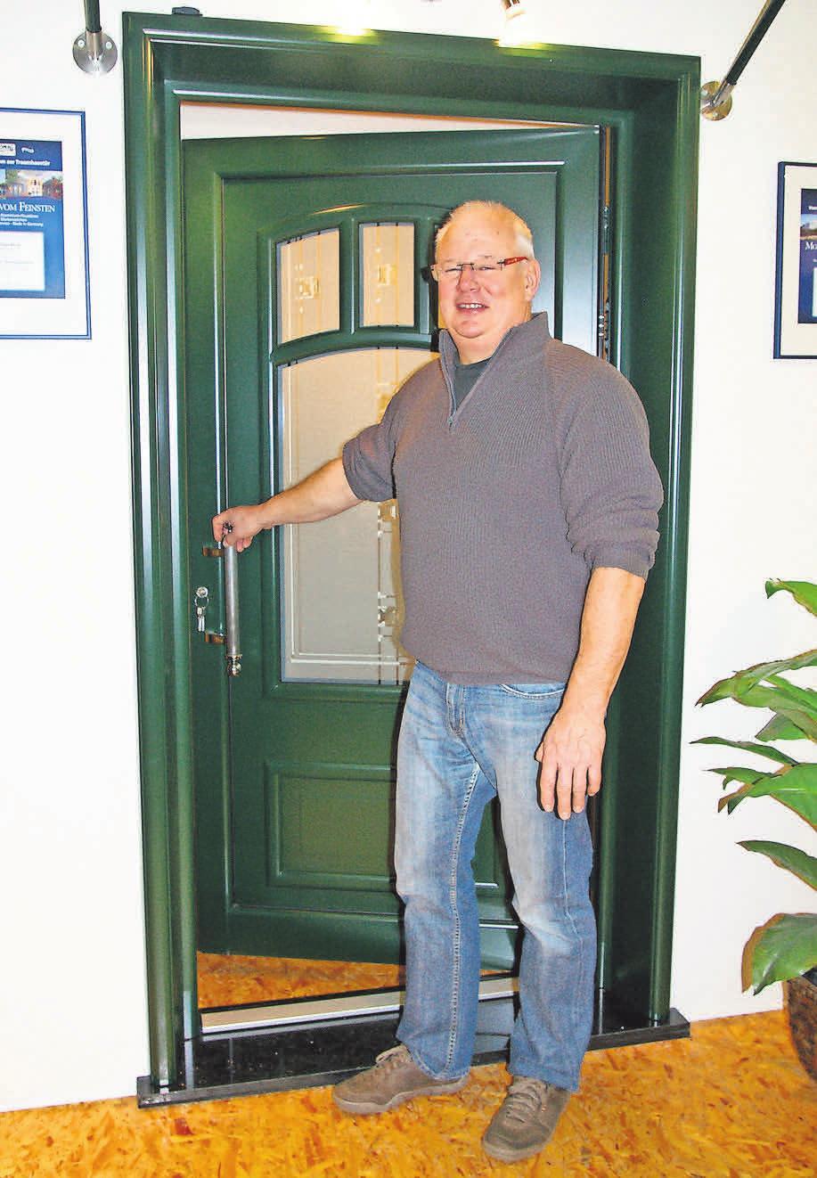 Frank Hildebrandt empfiehlt eine sichere Tür von KOMPOtherm.