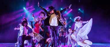 Auch der moderne Bühnentanz gehört zur Show. Foto: Martin Hausler