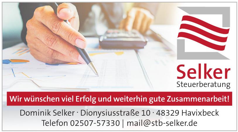 Dominik Selker Steuerberatung