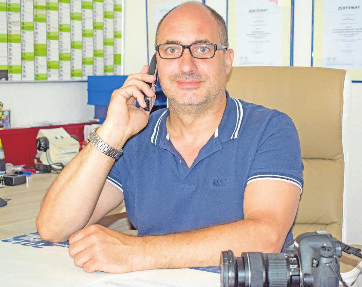 Stefan Künemund legt Wert darauf, zertifizierte, freie und unabhängige Arbeit zu leisten. FOTO: CASPAR