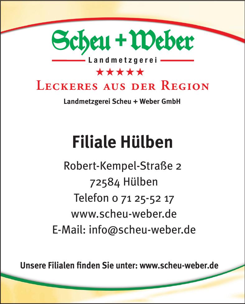 Landmetzgerei Scheu + Weber GmbH