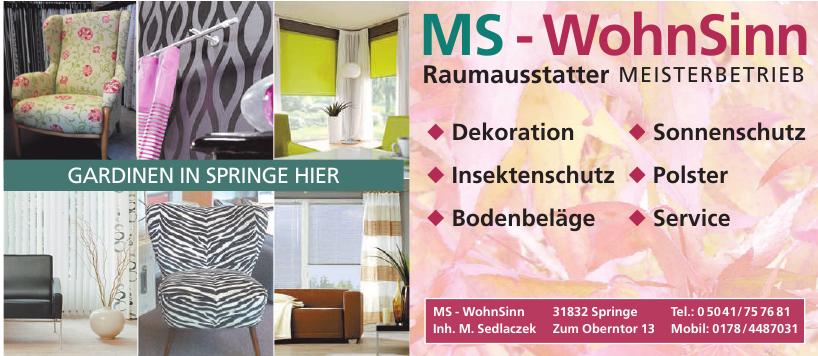 MS - WohnSinn