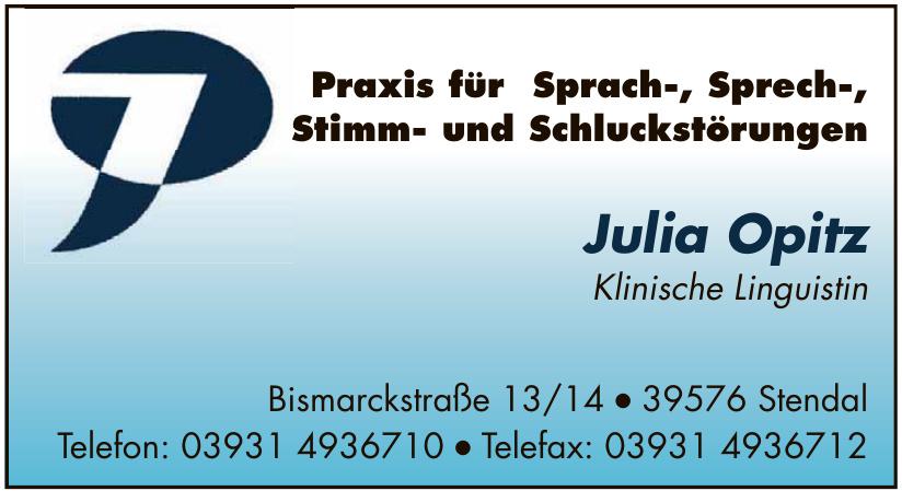 Julia Opitz Klinische Linguistin