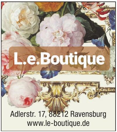 L.e. Boutique
