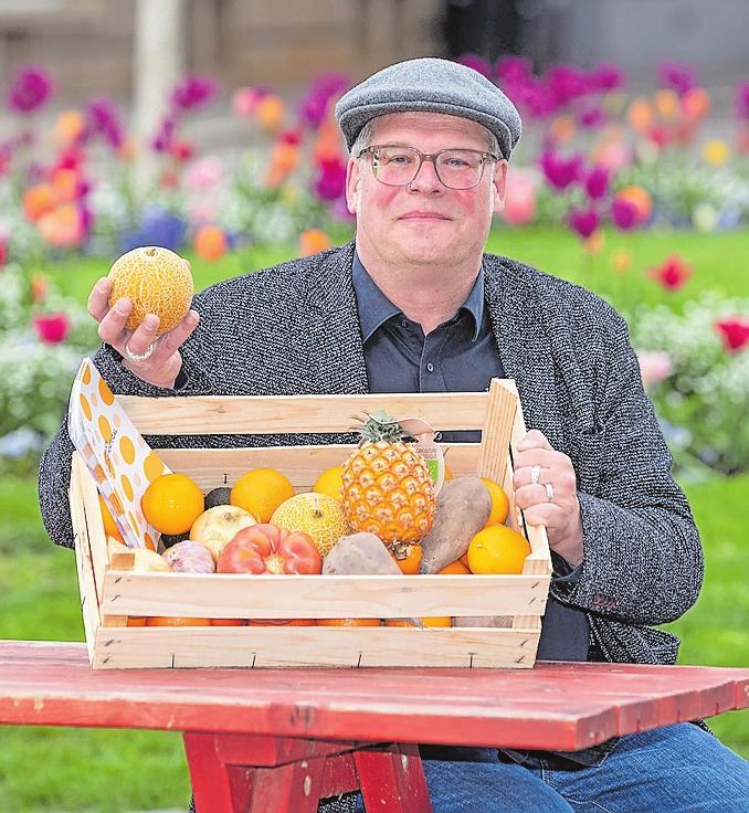 Avocados von den Azoren: Matthias Kästner macht mit Pois fairen Handel in Europa.