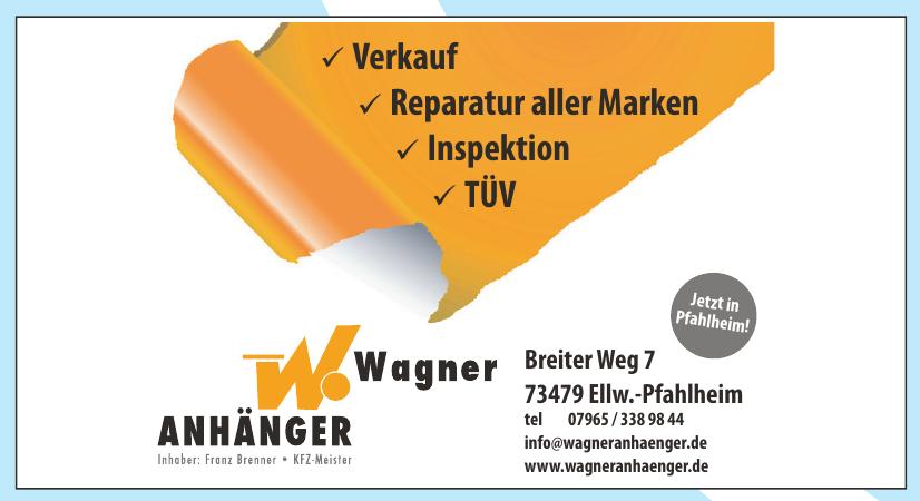 Wagner Anhänger