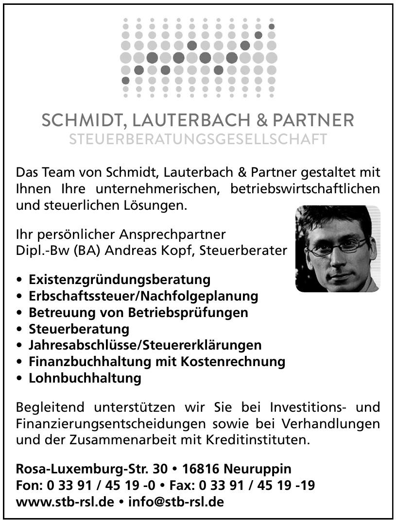Schmidt, Lauterbach & Partner Steuerberatungsgesellschaft