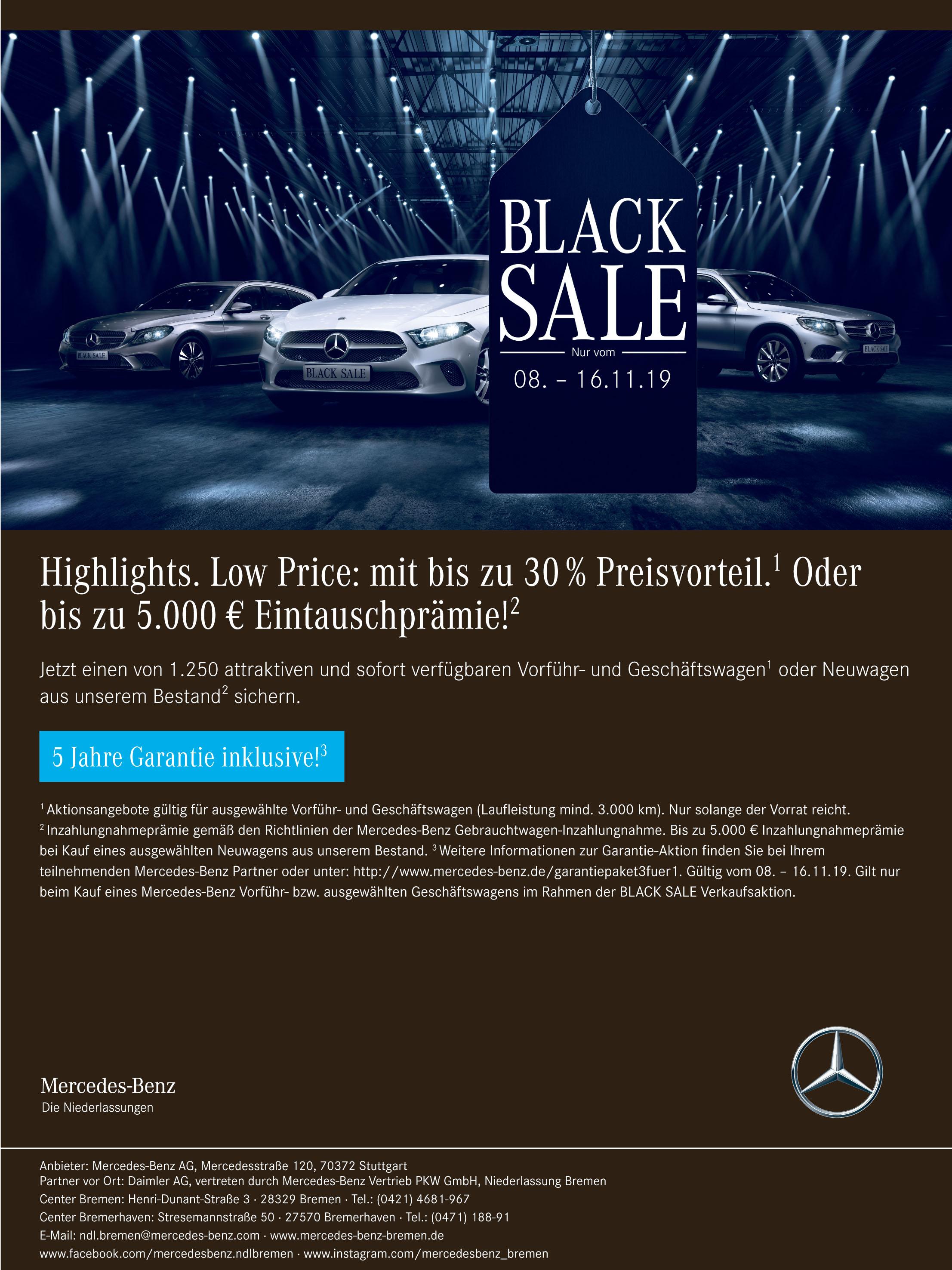 Mercedes-Benz Vertrieb PKW GmbH, Niederlassung Bremen