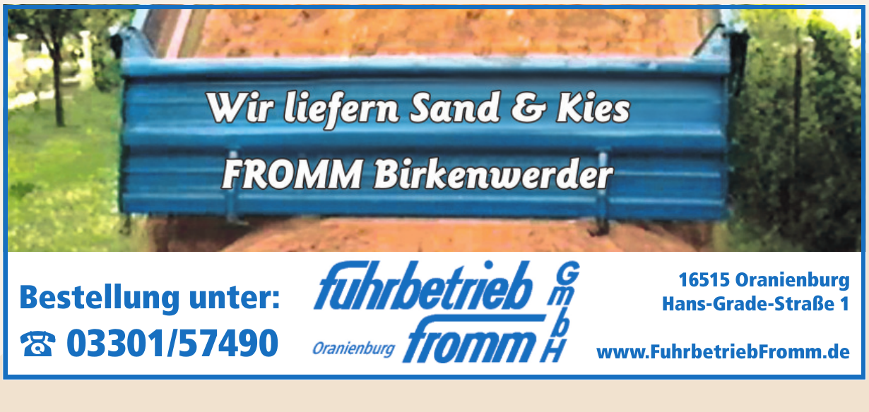 Fuhrbetrieb Fromm GmbH