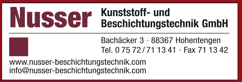 Nusser Kunststoff- und Beschichtungstechnik GmbH
