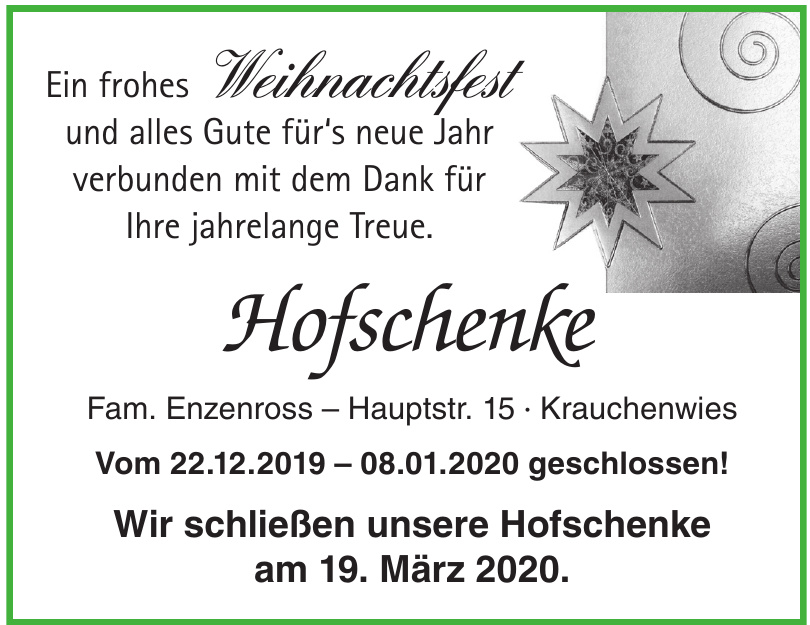 Hofschenke