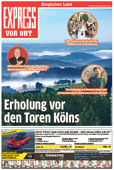 Express vor Ort: Bergisches Land