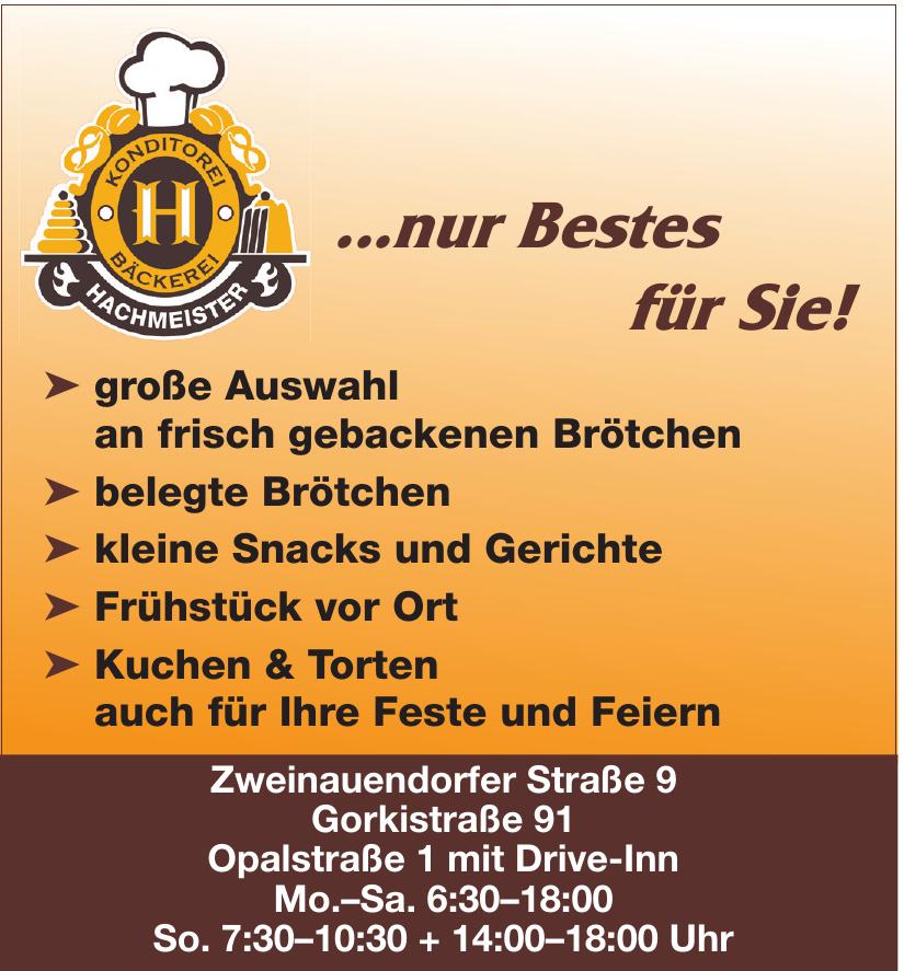 Bäckerei Konditorei Hachmeister