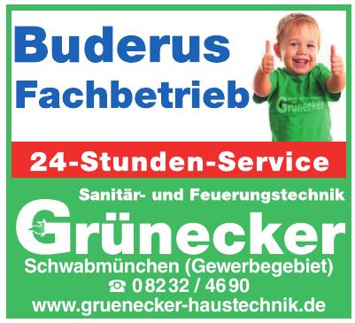 Grünecker Sanitär- und Feuerungstechnik