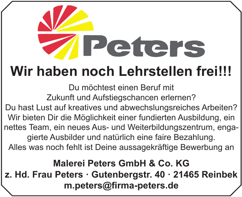 Malerei Peters GmbH & Co. KG