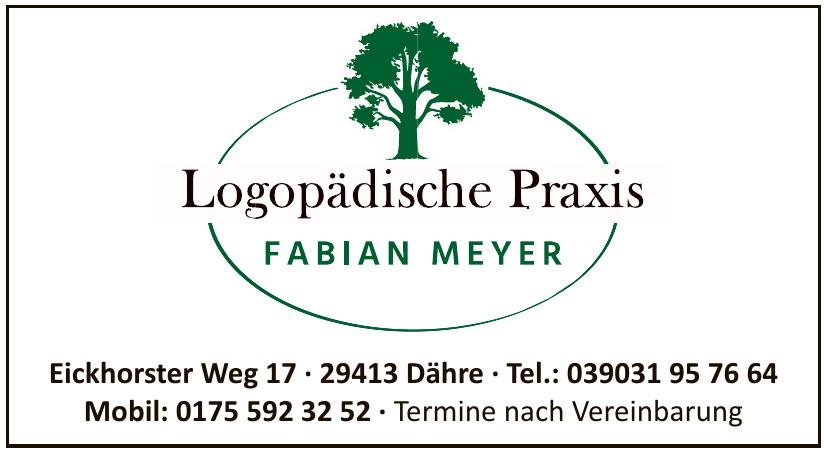 Logopädische Praxis Fabian Meyer