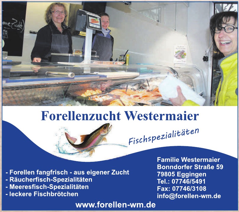 Forellenzucht Westermaier