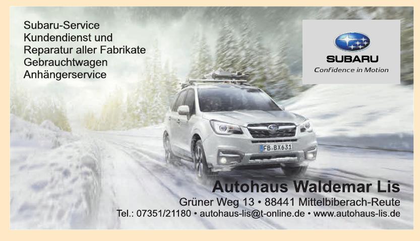 Autohaus Waldemar Lis