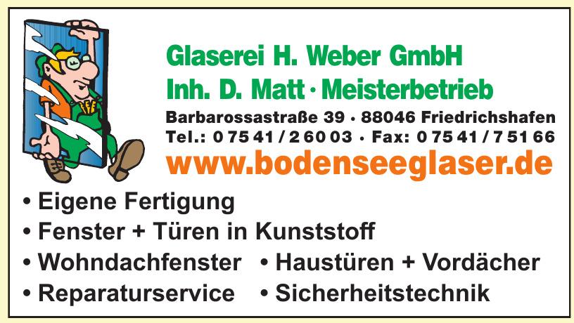 Glaserei H. Weber GmbH