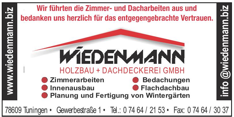 Wiedenmann Holzbau + Dachdeckerei GmbH