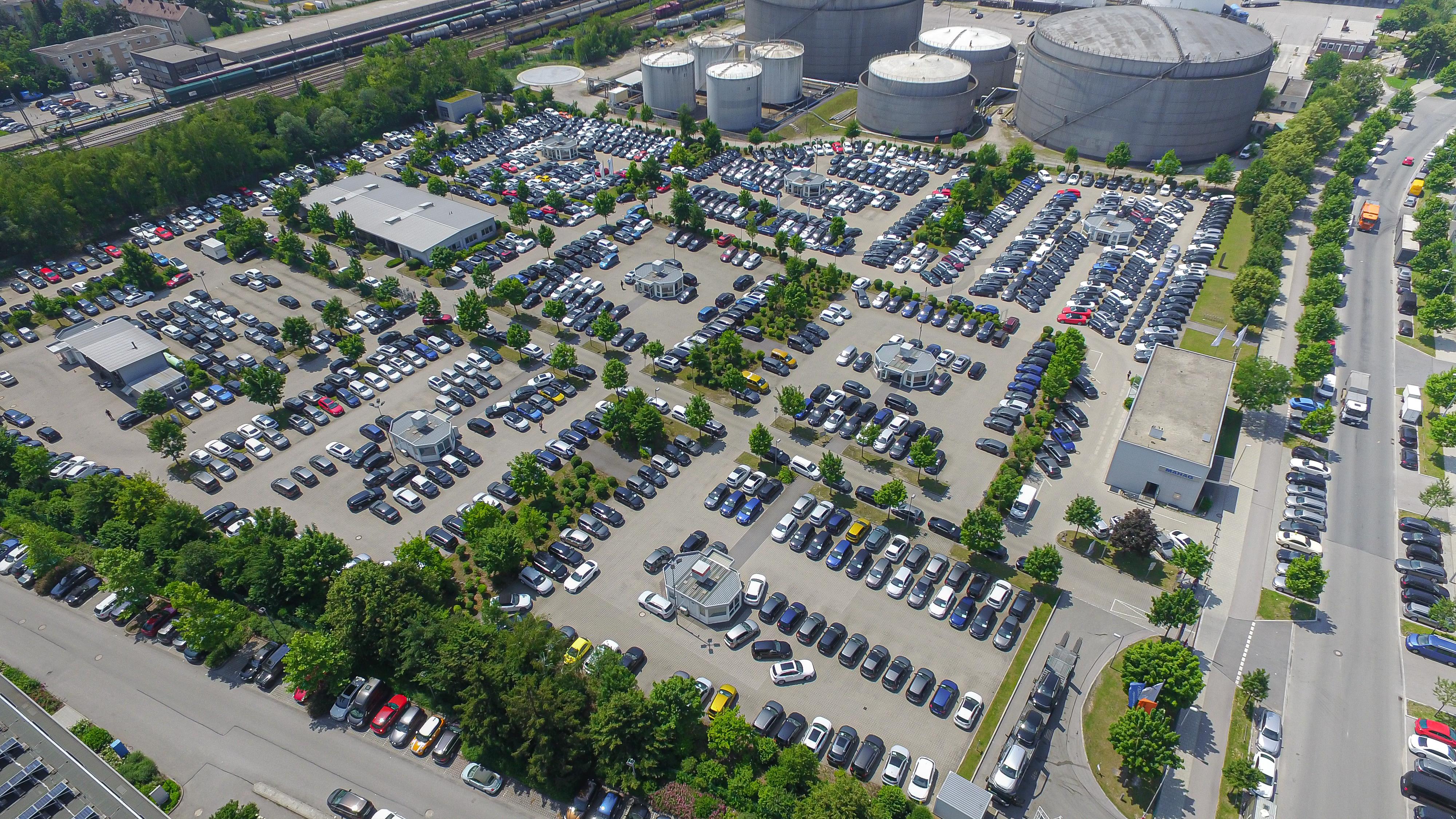 Große Auswahl: Über 1500 Gebrauchtfahrzeuge sind bei der MAHAG im Angebot.