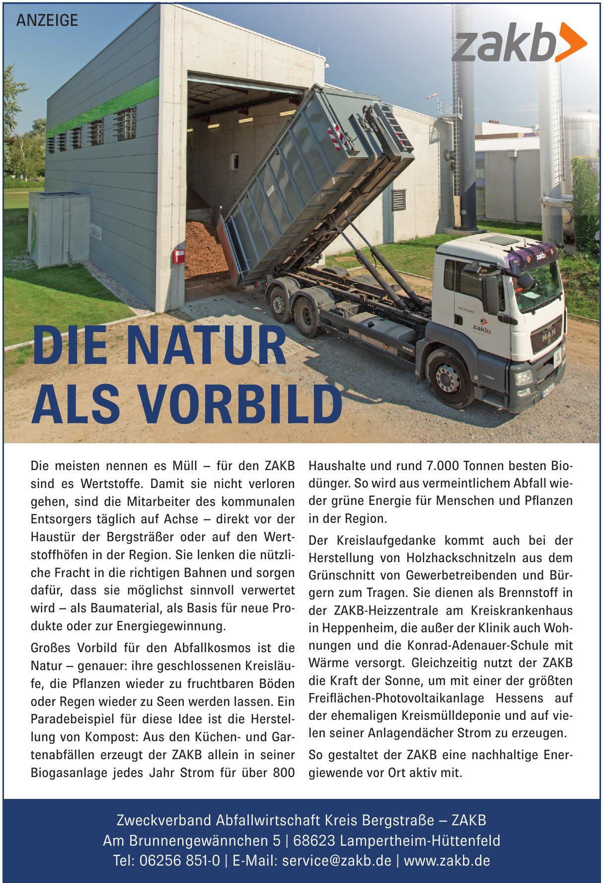 Zweckverband Abfallwirtschaft Kreis Bergstraße – ZAKB