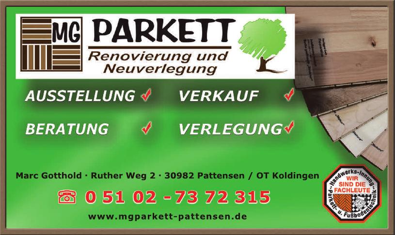 MG Parkett Renovierung und Neuverlegung
