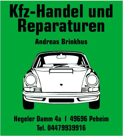 Kfz-Handel und Reparaturen Andreas Brinkhus
