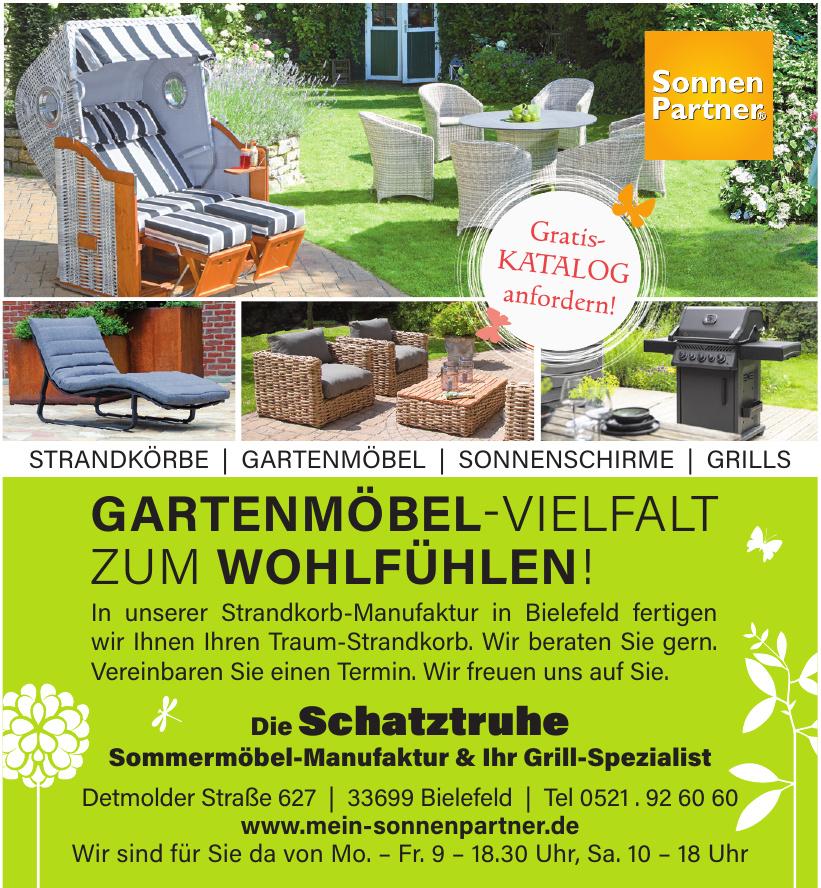 Die Schatztruhe Sommermöbel-Manufaktur & Ihr Grill-Spezialist
