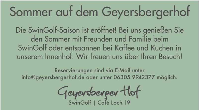 Geyersberger Hof