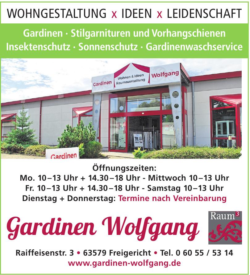 Gardinen Wolfgang