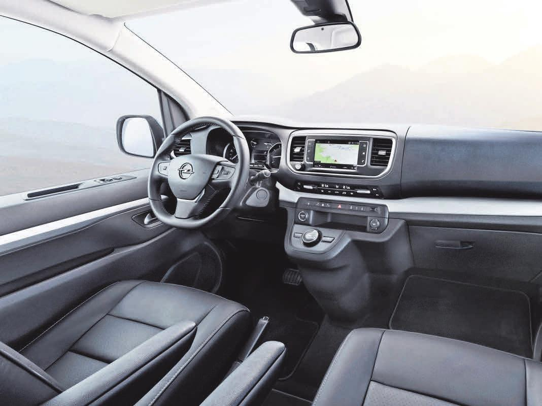 Der Zafira Life verfügt über eine gute Rundumsicht – wichtig beim städtischen Rechtsabbiegen oder in engen Nebenstraßen. Foto: Opel Automobile GmbH