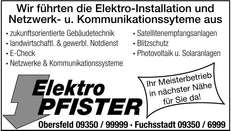 Elektro Pfister