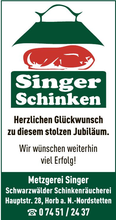 Metzgerei Singer