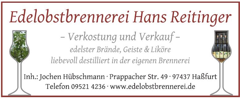 Edelobstbrennerei Hans Reitinger