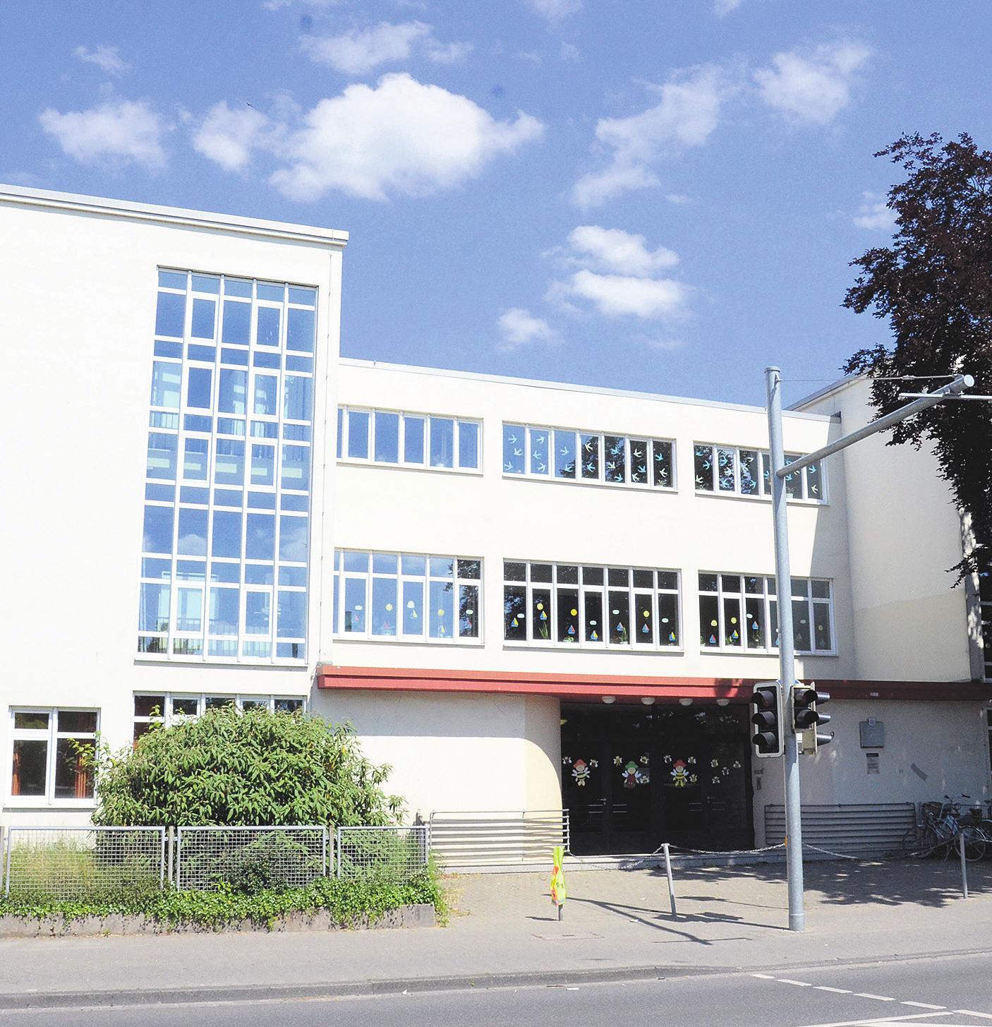 Ein Haesler-Bauwerk: die Altstädter Schule. Foto: Archiv